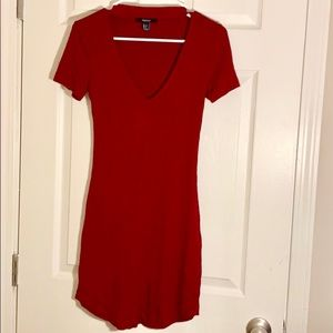 Forever 21 Burgundy Dress Size S